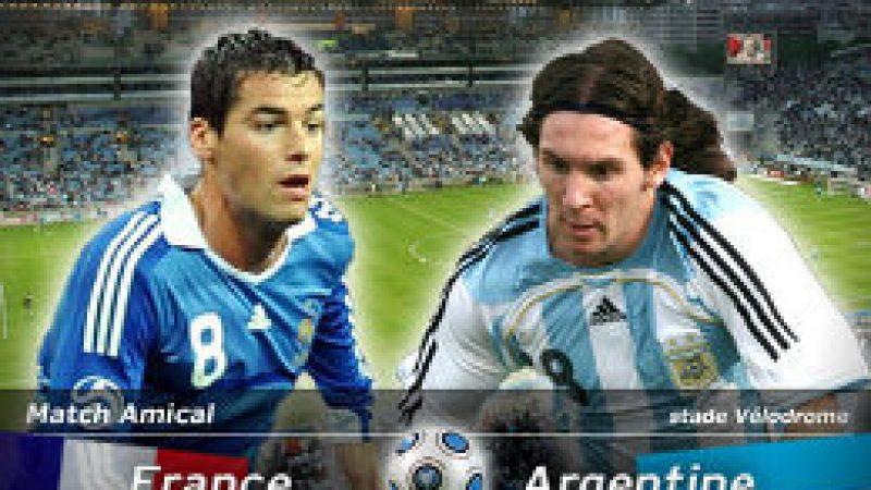 [Sport] France / Argentine