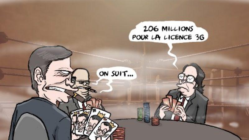 Humour : Xavier Niel lance 206 millions d'euros la blind