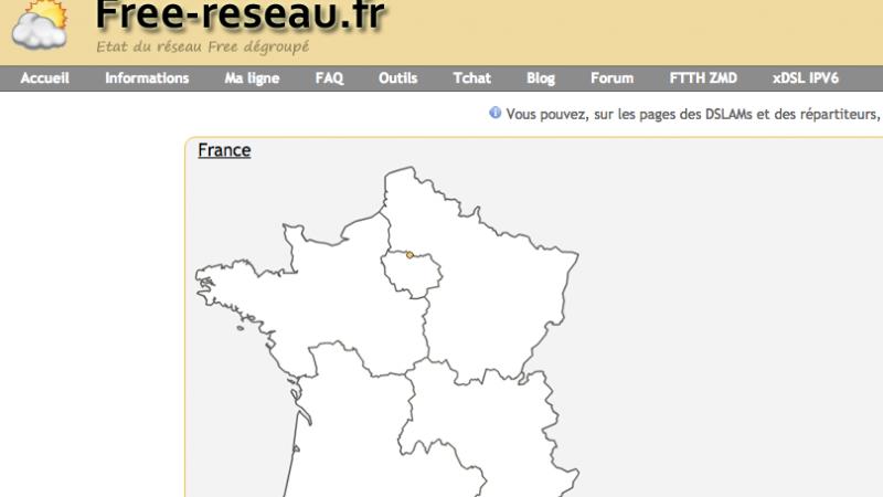Free-Reseau.fr : le site de surveillance du réseau Free annonce brutalement sa fin puis revient de plus belle