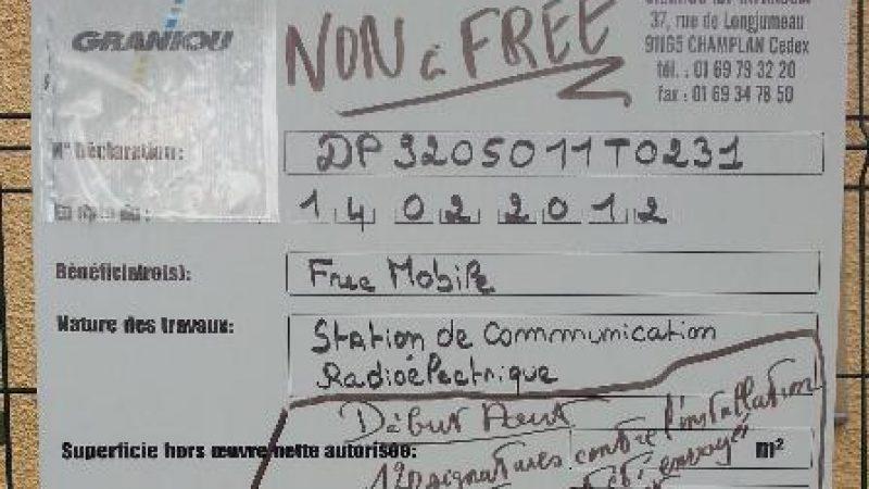 """L'installation d'une antenne à Nanterre provoque une réaction """"anti-Free"""""""