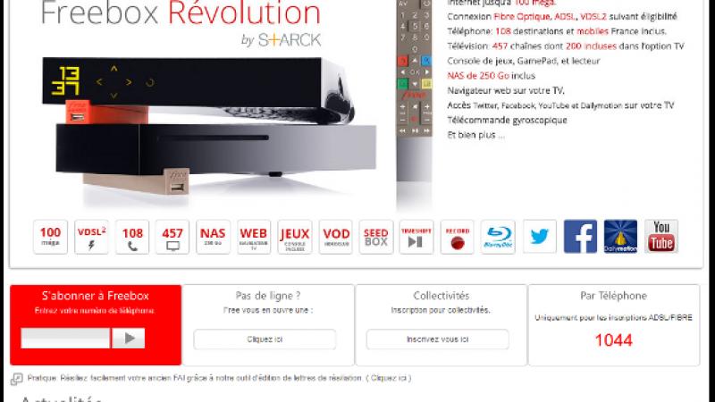 Freebox OS et Freebox Compagnon s'invitent sur le site de Free