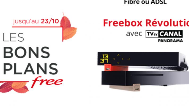 """Free maintient une fois de plus ses """"Bons plans"""" sur les offres Freebox"""