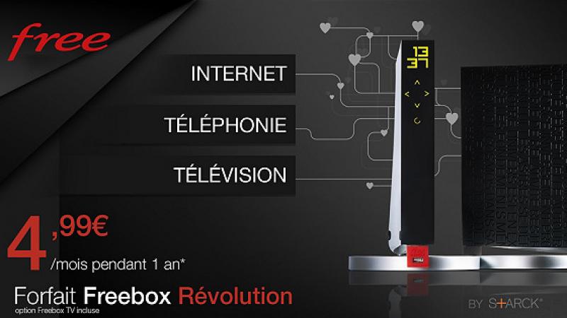 L'offre Freebox Révolution + forfait mobile illimité à 20,98€, repart pour un tour