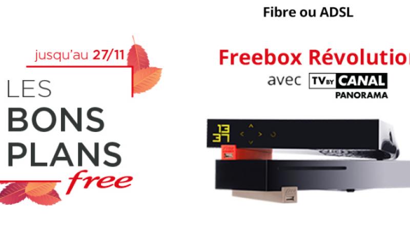 """Free maintient ses """"Bons Plans"""" sur ses offres Freebox jusqu'au mardi 27 novembre"""