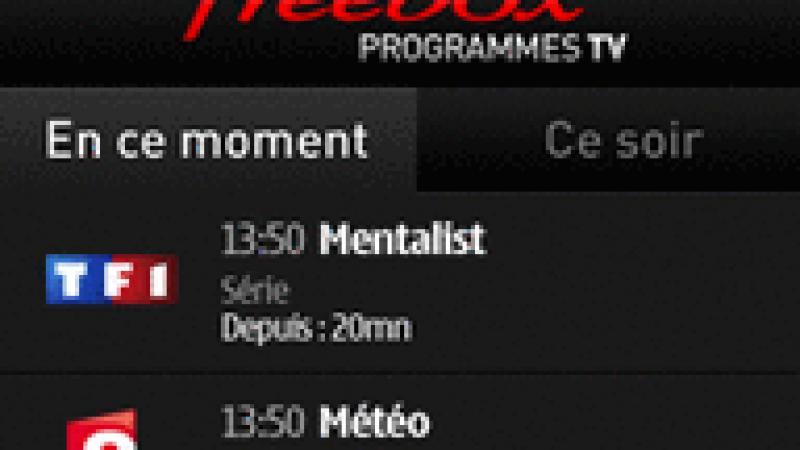 Free lance Freebox TV Prog pour Nokia