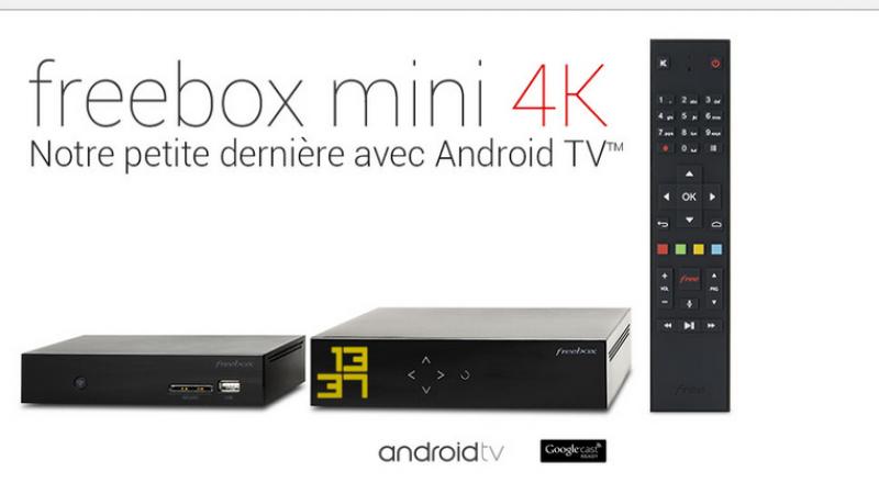 La nouvelle Freebox mini 4K s'invite sur le site web de Free