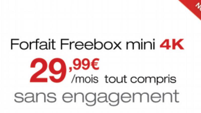 Freebox mini 4K : le détail des services inclus dans l'offre à 29,99 €
