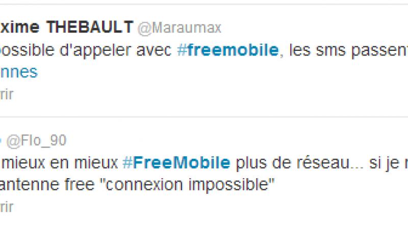 Incident Free Mobile : des problèmes de réseau dans plusieurs villes de France