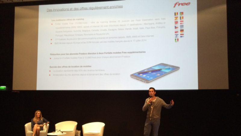 Le directeur Financier d'Iliad explique pourquoi Free ne propose pas d'assurance pour le Mobile