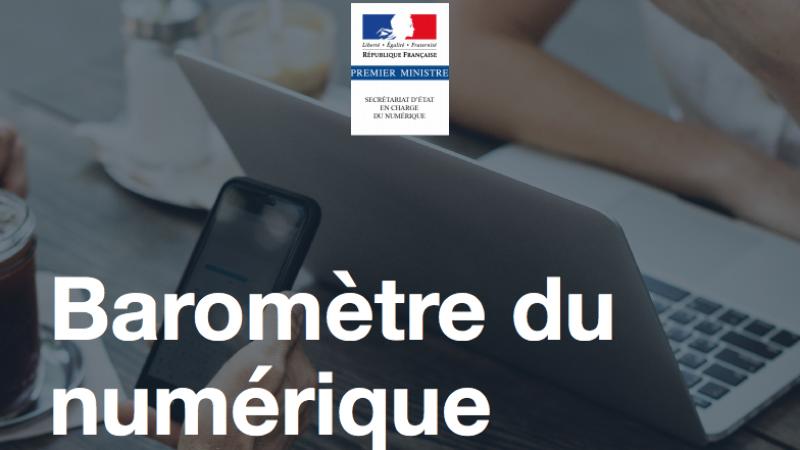 Infographie : découvrez les principaux enseignements de l'année sur la place du numérique dans la vie des Français