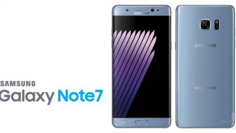 Samsung lance un plan de recyclage et de reconditionnement pour son Galaxy Note 7