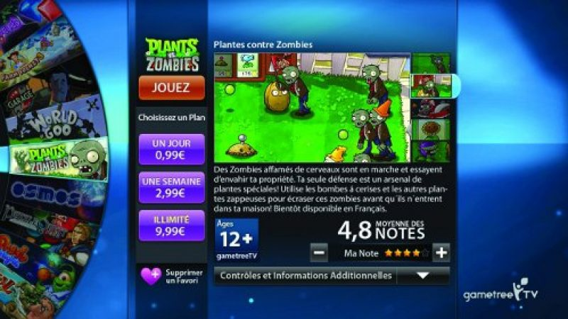 Freebox Révolution : Forte baisse des tarifs de GameTree TV