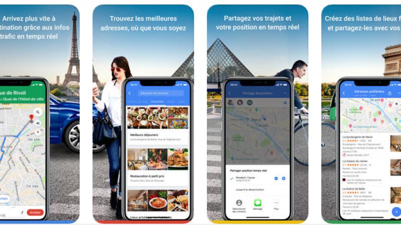 De nouvelles fonctionnalités pour les fins gourmets dans Google Maps sur iOS