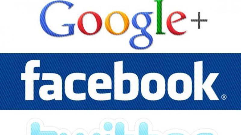 Conditions d'utilisation: Google, Facebook et Twitter sont priés de se conformer à la norme européenne