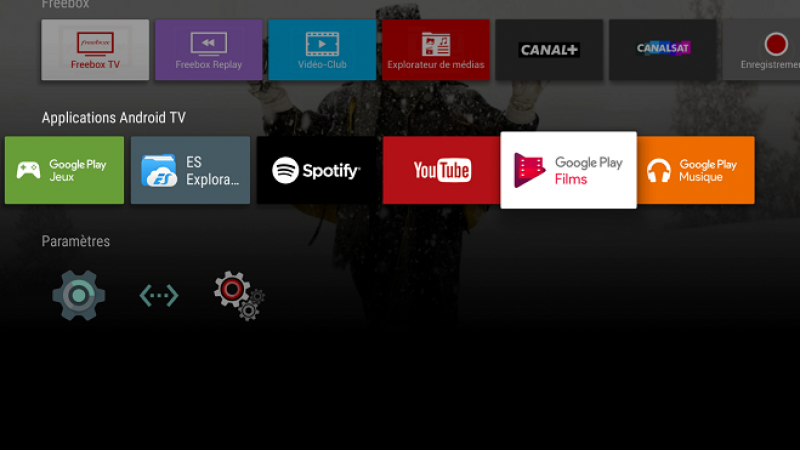 Une nouvelle mise à jour de Google Play Films sur Freebox Mini 4K