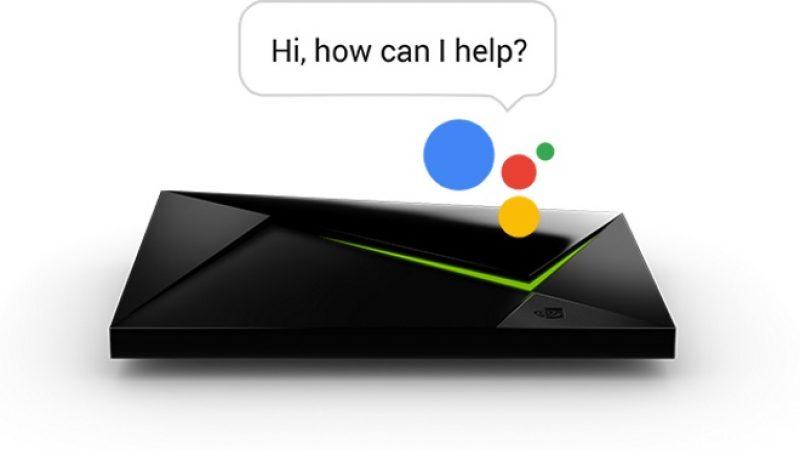 Découvrez Google Assistant sur Nvidia Shield TV, un service qui pourrait débarquer sur Freebox Mini 4K si elle passe sous Android TV 6.0