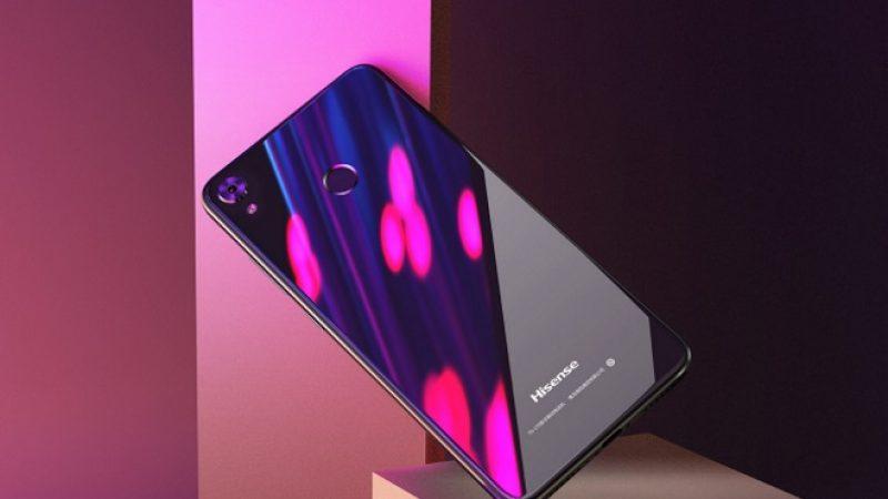 Hisense annonce plusieurs smartphones au format 18:9 à des prix accessibles
