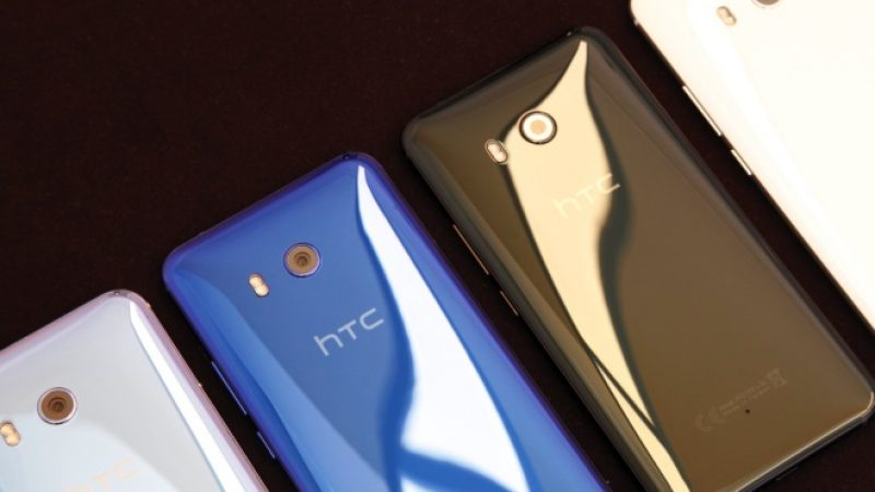 HTC : Le nouveau U11 veut sortir du lot avec ses bords sensitifs