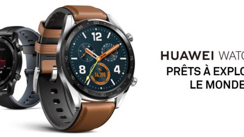 Huawei Watch GT : pas de Wear OS pour la nouvelle montre connectée de la marque
