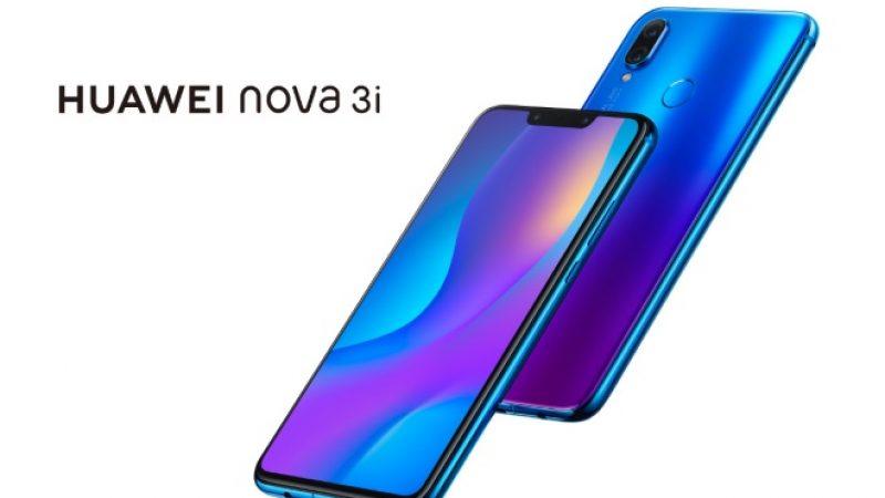 Huawei Nova 3i : le premier smartphone doté du nouveau processeur Kirin 710