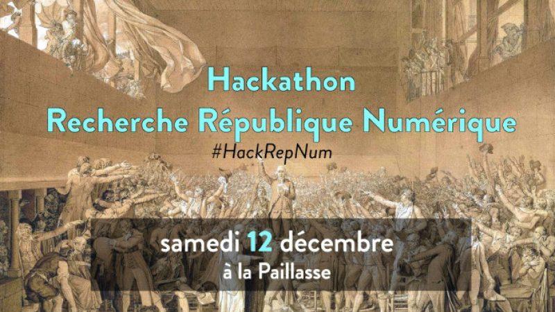 Un hackathon autour de la loi sur le numérique