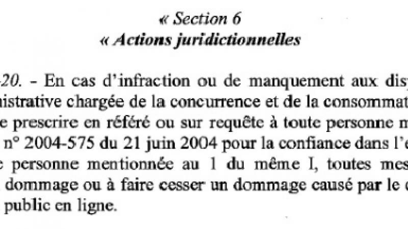 Le projet de loi Hamon préconise le blocage de site internet.