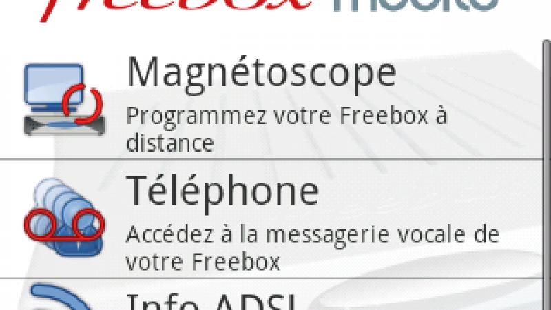 Nouvelle version et nouvelles fonctions pour FreeboxMobile