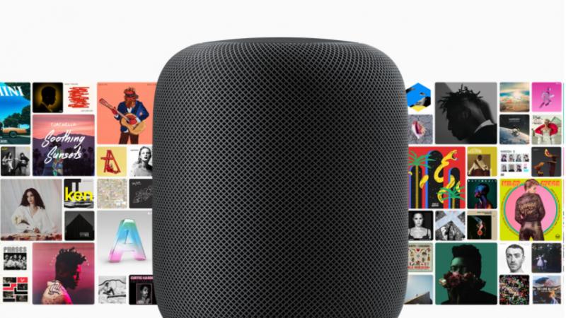 Le HomePod d'Apple débarquera en France au printemps prochain