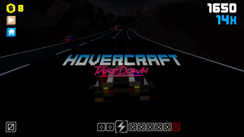 Jeu gratuit sur Freebox Mini 4K : Détruisez tout sur votre passage grâce à votre hovercraft