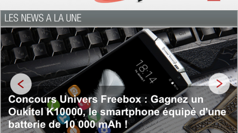 La nouvelle version iOS de l'application Univers Freebox est disponible