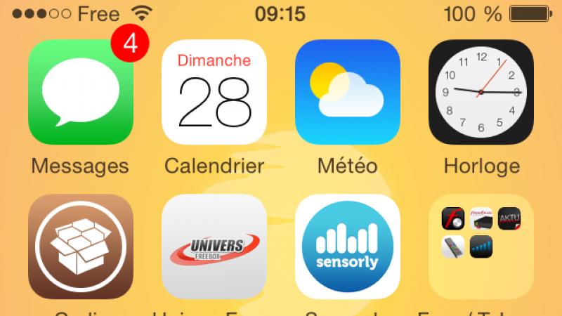 Pimp my Free Mobile : personnalisez gratuitement le nom du réseau de l'opérateur sous iOS