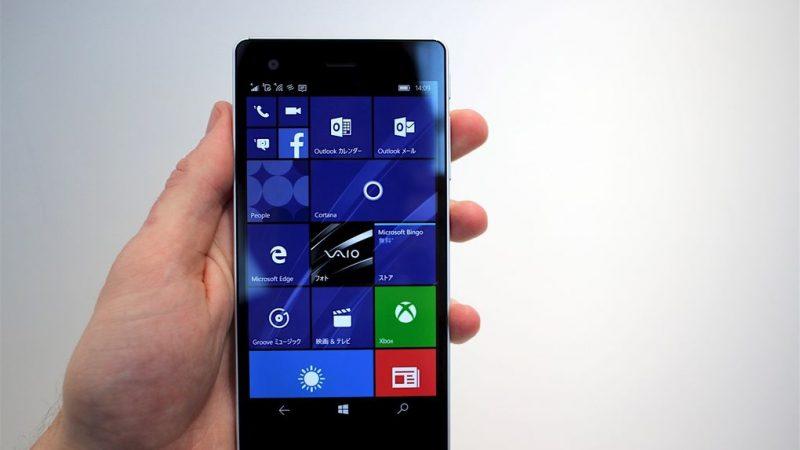 Vaio dévoile un nouveau Windows Phone