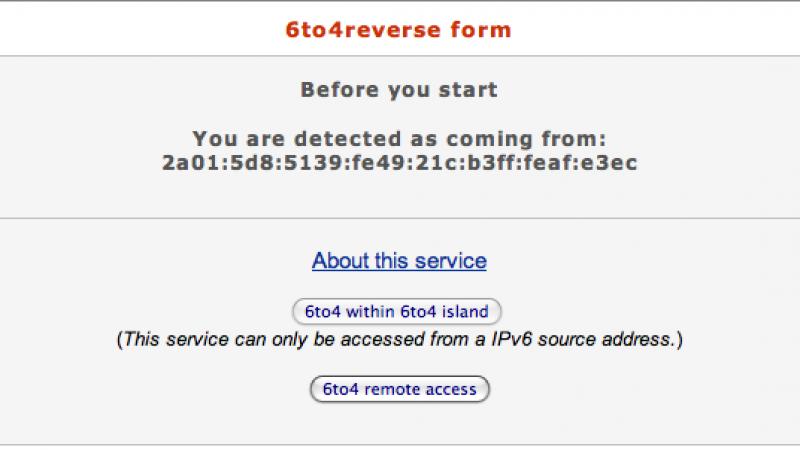 Suis-je bien passé en IPv6 ?