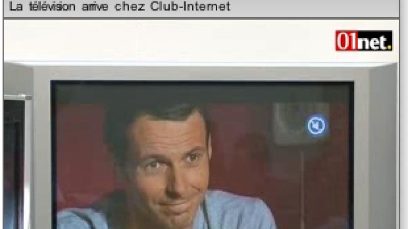 Vidéo reportage : La TV chez Club-Internet
