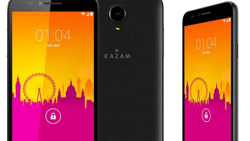 Une mise à jour est disponible pour le Kazam Trooper 650L, le smartphone le moins cher proposé par Free