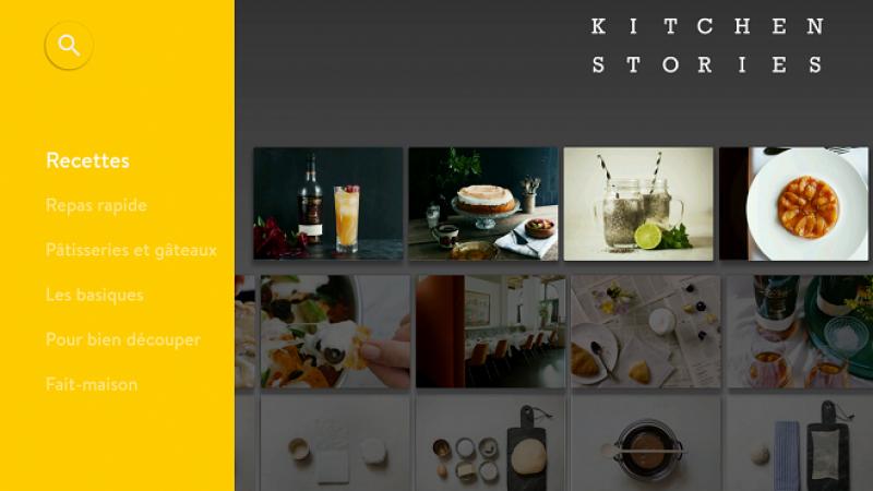 Apprenez à cuisiner grâce à Kitchen Stories, disponible sur Freebox Mini 4K