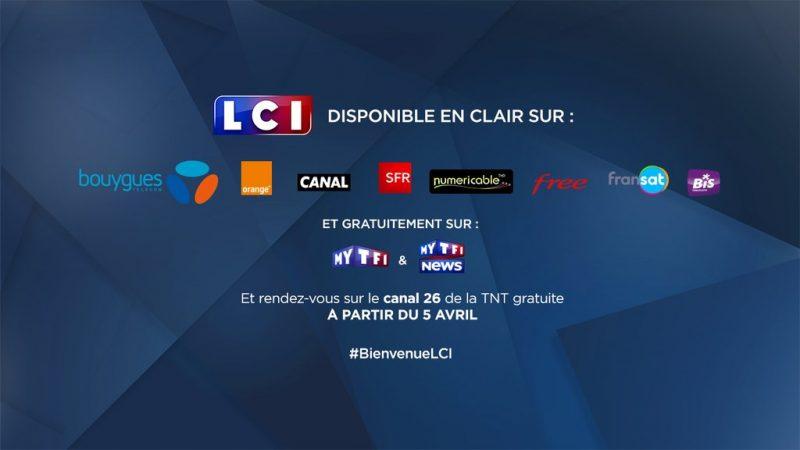 LCI communique officiellement sur son arrivée chez Free et les autres opérateurs