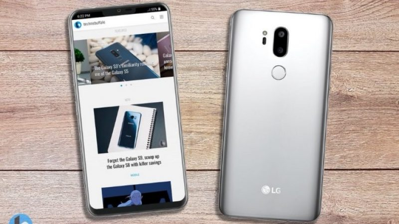 LG G7 : le futur concurrent du Galaxy S9 au niveau de la photo
