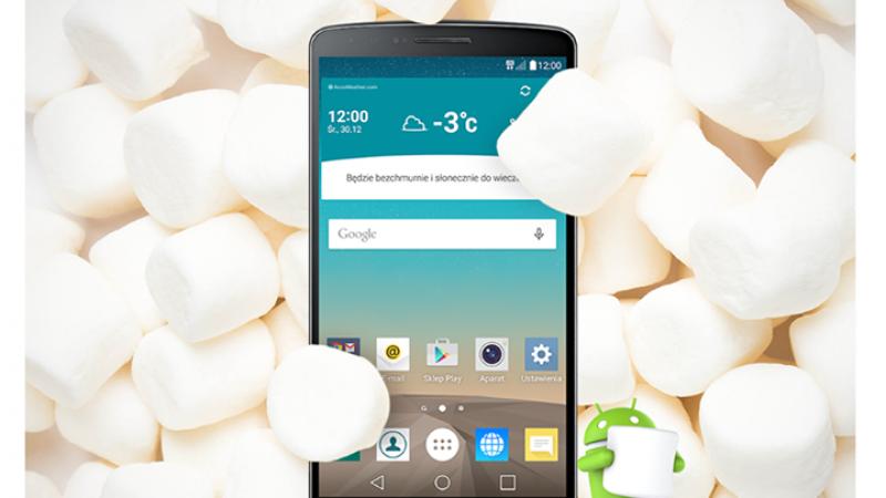 Le déploiement d'Android Marshmallow sur le LG G3 a débuté en Pologne