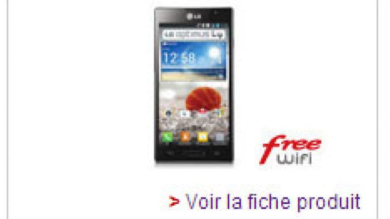 Free Mobile baisse le tarif du LG Optimus L9 dans sa boutique en ligne