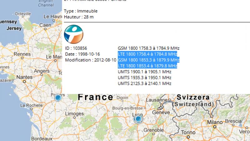 [MàJ] Bouygues a obtenu l'autorisation de la 4G sur les 1800 MHz pour faire des tests