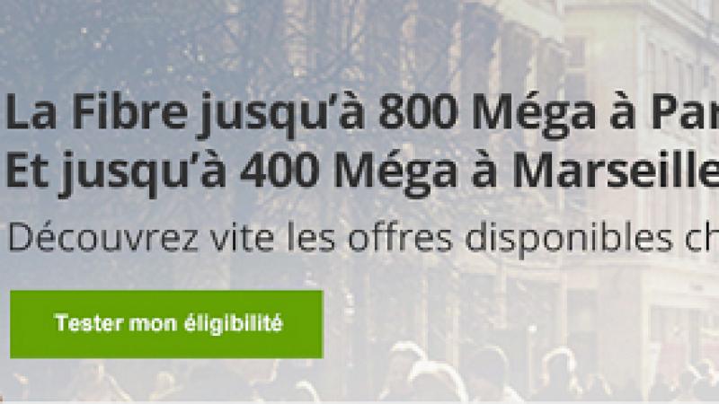 SFR-Numericable lance l'internet fixe à 800 Mbits à Paris