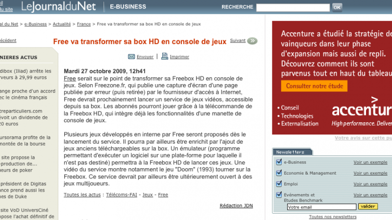 Le Journal du Net (Freezone)
