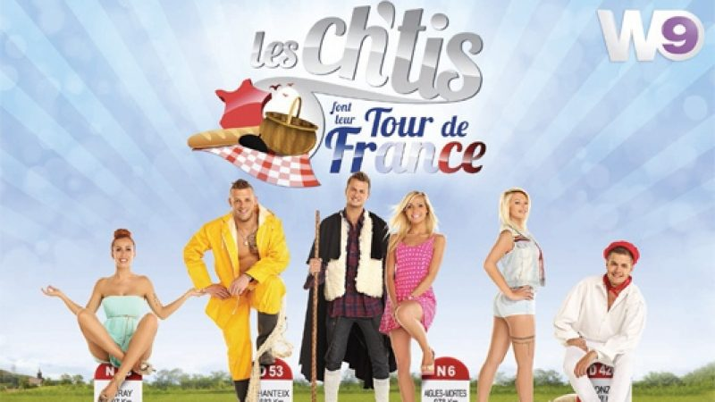 """""""Les Chtis font le tour de France"""" dès lundi sur W9"""