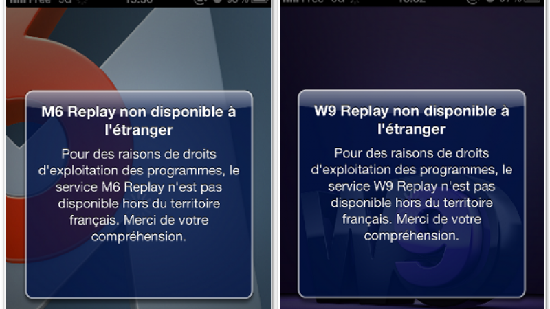 [MAJ 4] Free Mobile : Canal Plus, M6 Replay et W9 Replay inaccessibles en 3G