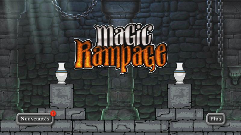 Découvrez Magic Rampage , un jeu gratuit d'action RPG sur Freebox Mini 4K