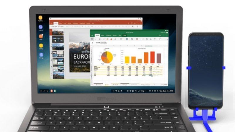 Mirabook: Un ordinateur portable animé par votre smartphone