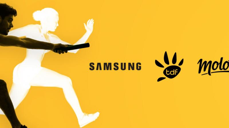 Molotov passe à la réception TNT avec Samsung et TDF