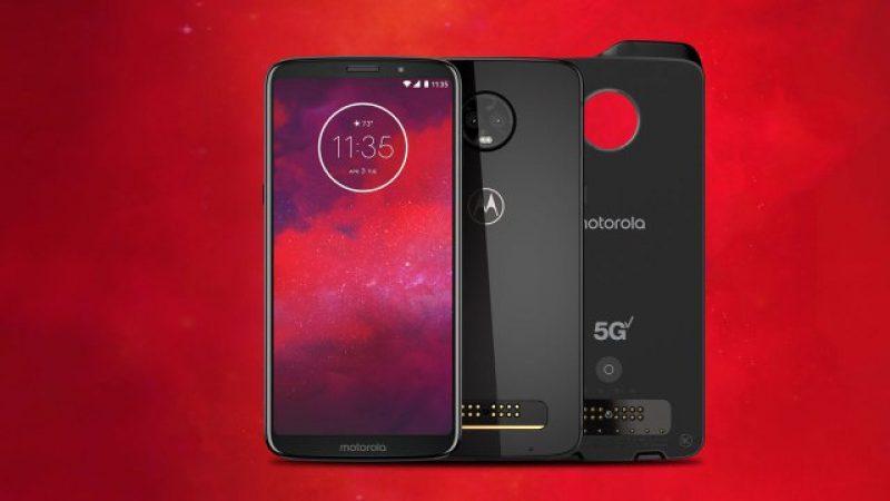 """Motorola annonce le Z3, """"premier smartphone compatible 5G"""" mais…"""