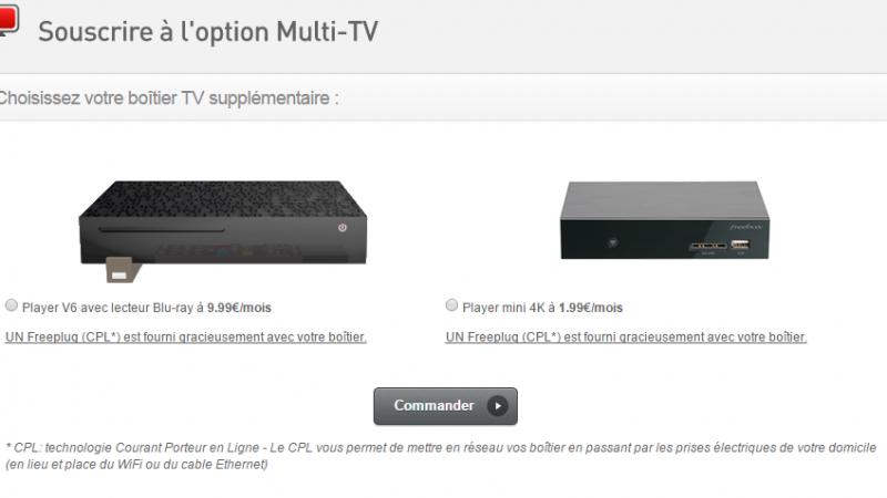 [Màj] Freebox Révolution : le Freebox Player mini 4K déjà proposé en multi-TV aux dépends du Player Crystal